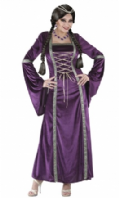 Purple Medieval Princess Costume (0168)